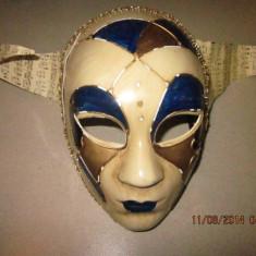 Masca veneziana pentru carnaval originala, marimea fetei