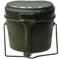 GAMELA veche militara confectionta din aluminiu, perioada comunista!