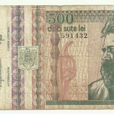 ROMANIA 500 lei 1992 VF+ [4] - Bancnota romaneasca