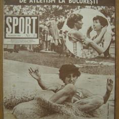 Revista SPORT nr. 8/1982  FC Bihor Oradea  Petrolul Ploiesti