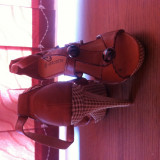 Sandale dama superbe, Culoare: Din imagine, Marime: 38, Din imagine