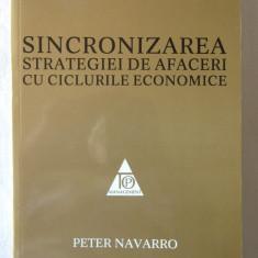 """""""SINCRONIZAREA STRATEGIEI DE AFACERI CU CICLURILE ECONOMICE"""", Peter Navarro, 2010. Top Management. Absolut noua"""