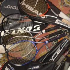 Rachete Tenis - Racheta tenis de camp Dunlop, Performanta, Adulti, Grafit/Titanium