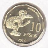 bnk mnd Insula Pastelui 10 pesos 2014 unc