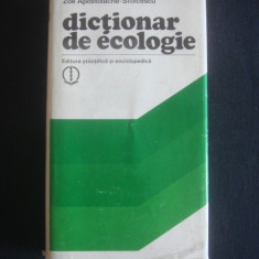 PETRE NEACSU, ZOE APOSTOLACHE-STOICESCU - DICTIONAR DE ECOLOGIE - Carte Geografie