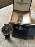Vand ceas Jacques Lemans Geneve Automatic, Elegant, Mecanic-Automatic, Placat cu aur, Jacques Lemans