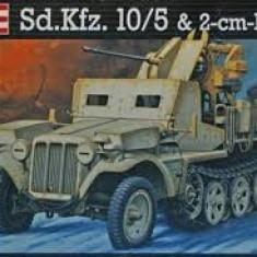 + Macheta Revell 03061 1:35 - Demag D7 Sd.Kfz.10/5 Flak 38 (VEZI NOTA) + - Macheta auto