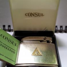 Bricheta Benzina Functionala Consul - Germany - 1950 - Pt Colectionari - Bricheta Cu benzina