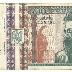 ROMANIA 500 LEI 1992 [6] - Bancnota romaneasca