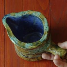 Vas / vaza / carafa - piesa deosebita realizata manual din ceramica !!! - Arta Ceramica