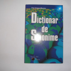 DICTIONAR DE SINONIME - Dragos Mocanu, RF5/2 - Dictionar sinonime
