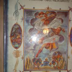 Ruslan si Ludmila (cartea este in limba engleza/ cu ilustratii)-Puskin - Carte de povesti