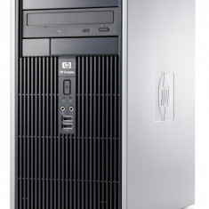 CALCULATOR HP DC5700 PROCESOR DUAL CORE E5200 2.5 GHZ 2gb RAM DDR2 HDD 80GB DVD - Sisteme desktop fara monitor HP, Intel Core Duo, 2501-3000Mhz, 40-99 GB, LGA775