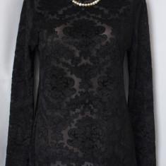 Bluza neagra, made in Italy, marimea M