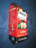 Lexmark 19 cartus color. P700, P3100, X4200, 2705, 2707.