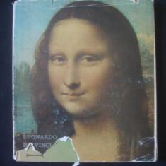 I. SABETAY - LEONARDO DA VINCI {album de arta, imagini detasabile}