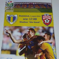 Program fotbal PETROLUL Ploiesti - FC BOTOSANI 03.08.2014 - Program meci