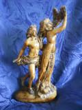 Cumpara ieftin Superba statueta ceramica, provenienta Germania, Decorative