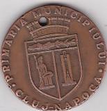 Medalia Primaria Municipiului Cluj-Napoca , Decebal , Traian , Lupa Capitolina