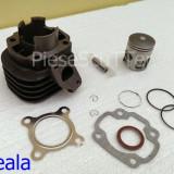 Kit cilindru / Set Motor + Piston + Segmenti Scuter Minarelli / Minareli Orizontal ( 2T / 65cc / Racire Aer )
