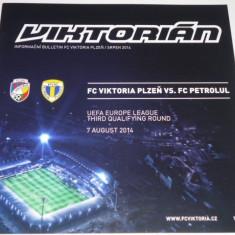 Program meci fotbal VIKTORIA PLZEN - PETROLUL PLOIESTI 07.08.2014 Europa League