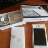 Vand iPhone 4 Apple Neverlocked/ 16 Gb/ Alb, Neblocat