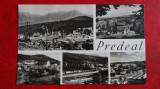 CP - Vedere  - Predeal - Vedere circulata 1966