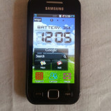 Samsung Wave 525 - Telefon Samsung, Negru, <1GB, Neblocat, Fara procesor, 512 MB