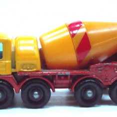 MATCHBOX by LESNEY-MADE IN ENGLAND -FODEN CONCRETE TRUCK -++2501 LICITATII !! - Macheta auto Matchbox, 1:125