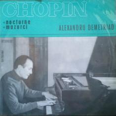 CHOPIN - NOCTURNE, MAZURCI - DISC VINIL - Muzica Clasica