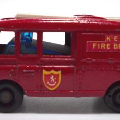 MATCHBOX by LESNEY-MADE IN ENGLAND -LAND ROVER FIRE TRUCK-++2501 LICITATII !! - Macheta auto