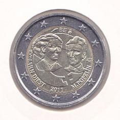 Moneda Belgia 2 Euro 2011 - KM#308 UNC - necirculata (bimetalica - comemorativa)