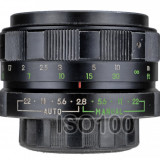 M42 Cosinon 55mm F2.8 sn 741373 pentru Nikon Canon Sony Olympus Panasonic - Obiectiv DSLR Olympus, Standard, Manual focus, Minolta - Md
