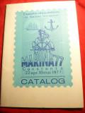 Catalog Expozitie Filatelica Marina '77 , 40 pag.