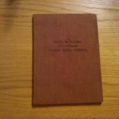 VIATA SI SLUJBA Sfintului Ierarh CALINIC DE LA CERNICA Episcopul Ramnicului-Noul Severin -- 1957, 80 p. ;tiraj: 5000 ex. - Carti ortodoxe