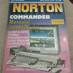 Norton Commander Manualul Incepatorului IT Retelistica Software Calculator - Carte software, Teora