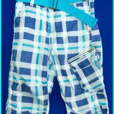 MODEL DEOSEBIT _ Pantaloni scurti, bumbac, frumosi, H&M _ baieti | 10 - 11 ani, Marime: Alta, Culoare: Albastru