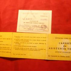Carnet Asistenta Tehnica ACR 1986 ,cu dovada verificarii tehnice anuale