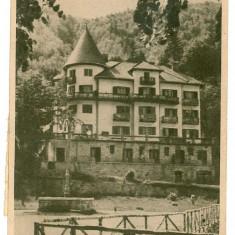 439 - Bacau, SLANIC MOLDOVA, Casa de odihna - old postcard - used - 1956 - Carte Postala Moldova dupa 1918, Circulata, Printata