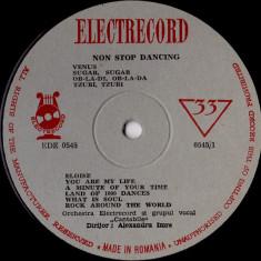 Orchestra Electrecord_Grupul Vocal Cantabile_Alexandru Imre - Non Stop Dancing (Vinyl) - Muzica Dance electrecord, VINIL