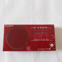 RADIO SONY ICF-15, FUNCTIONEAZA . - Aparat radio