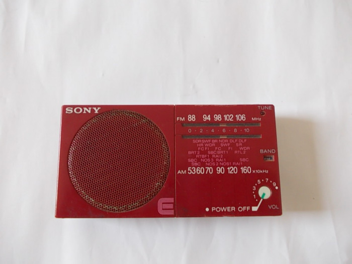 RADIO SONY ICF-15 , FUNCTIONEAZA .
