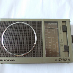 RADIO GRUNDIG MUSIC BOY 60 . FUNCTIONEAZA ! - Aparat radio