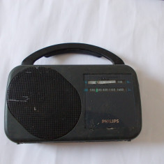 RADIO PORTABIL PHILIPS MODEL AE 2130, FUNCTIONEAZA . - Aparat radio