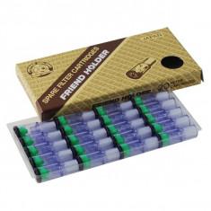 Filtre antinicotina/gudron (universale)rezerva mustiuc/sipca/porttigaret Friendh - Filtru tutun