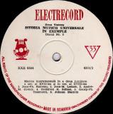 Zeno Vancea - Istoria Muzicii Universale In Exemple Nr. 3 (Muzica Instrumentala In A Doua Jumatate A Sec. Al XVII-lea, XVIII-lea) (Vinyl)