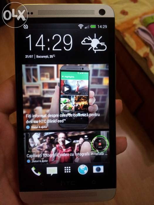 HTC One M7 32Gb, Neverlocked foto mare