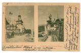 1770 - L i t h o, Prahova, SINAIA, Peles Castle - old postcard - used - 1900, Circulata, Printata