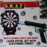 Laser Gun Set jucărie cu țintă, electronice - Pistol de jucarie