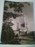 WARSZAWA POLONIA PALATUL CULTURII - CARTE POSTALA CP VEDERE CIRCULATA 1967, Europa, Fotografie